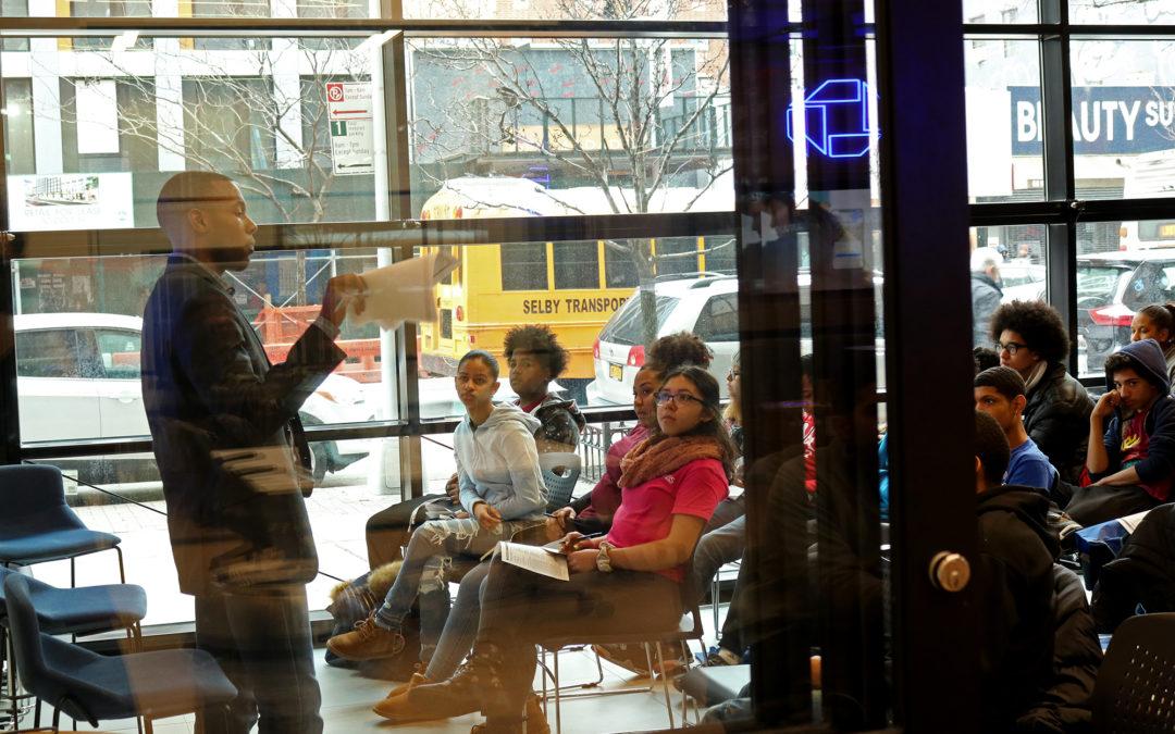Debunking Banking Myths: WHEELS Students Visit Chase Bank for Financial Workshop