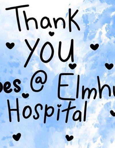 Thank you Elmhurst